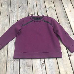 Kate Spade Saturday purple sweatshirt